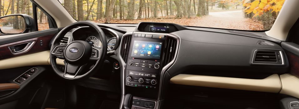 Interior 2019 Ascent Mobile Subaru