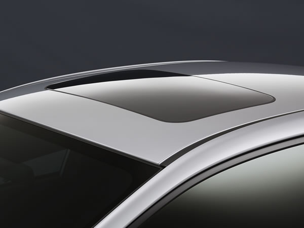 Power-sliding Glass Sunroof