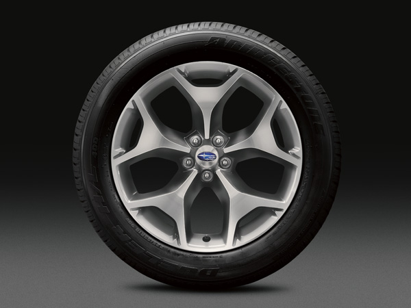 2018 Subaru Forester 18-inch Aluminum Alloy Wheels (High-relief Design)