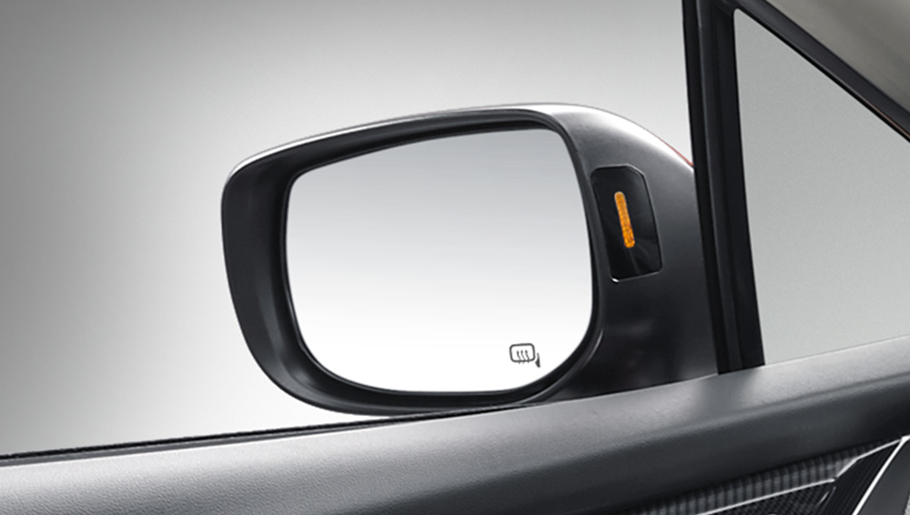2018 Subaru Impreza Power-adjustable Heated Mirrors