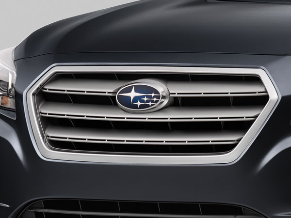 2017 Subaru Legacy Hexagonal Grille with Chrome  Accents