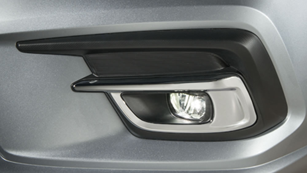 2018 Subaru Legacy Multi-reflector LED fog lights