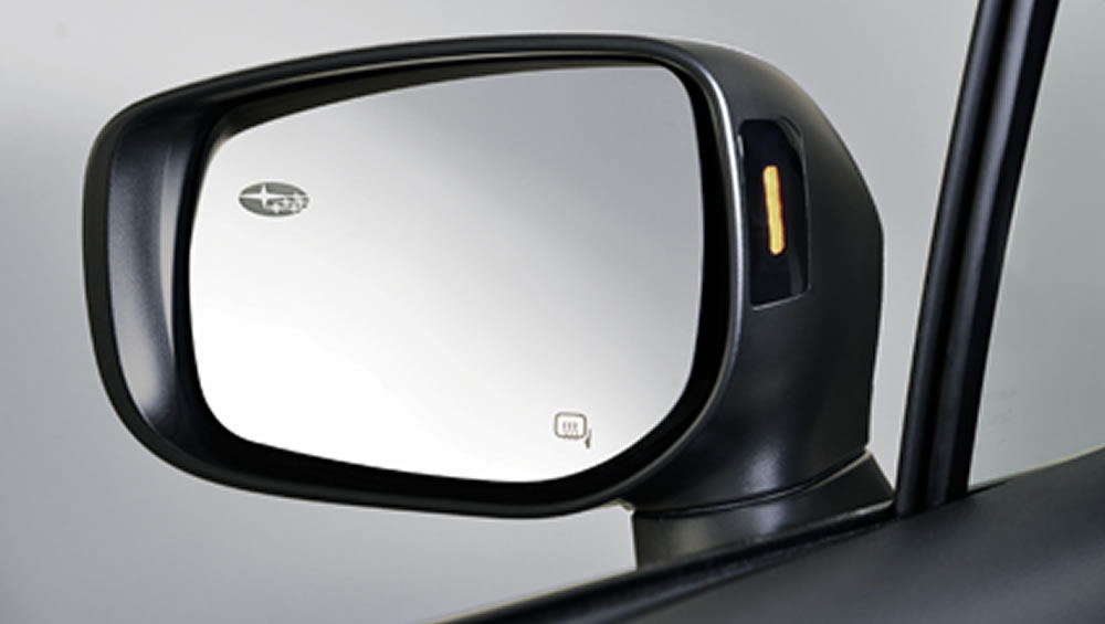 2018 Subaru Legacy Power-adjustable Heated Mirrors