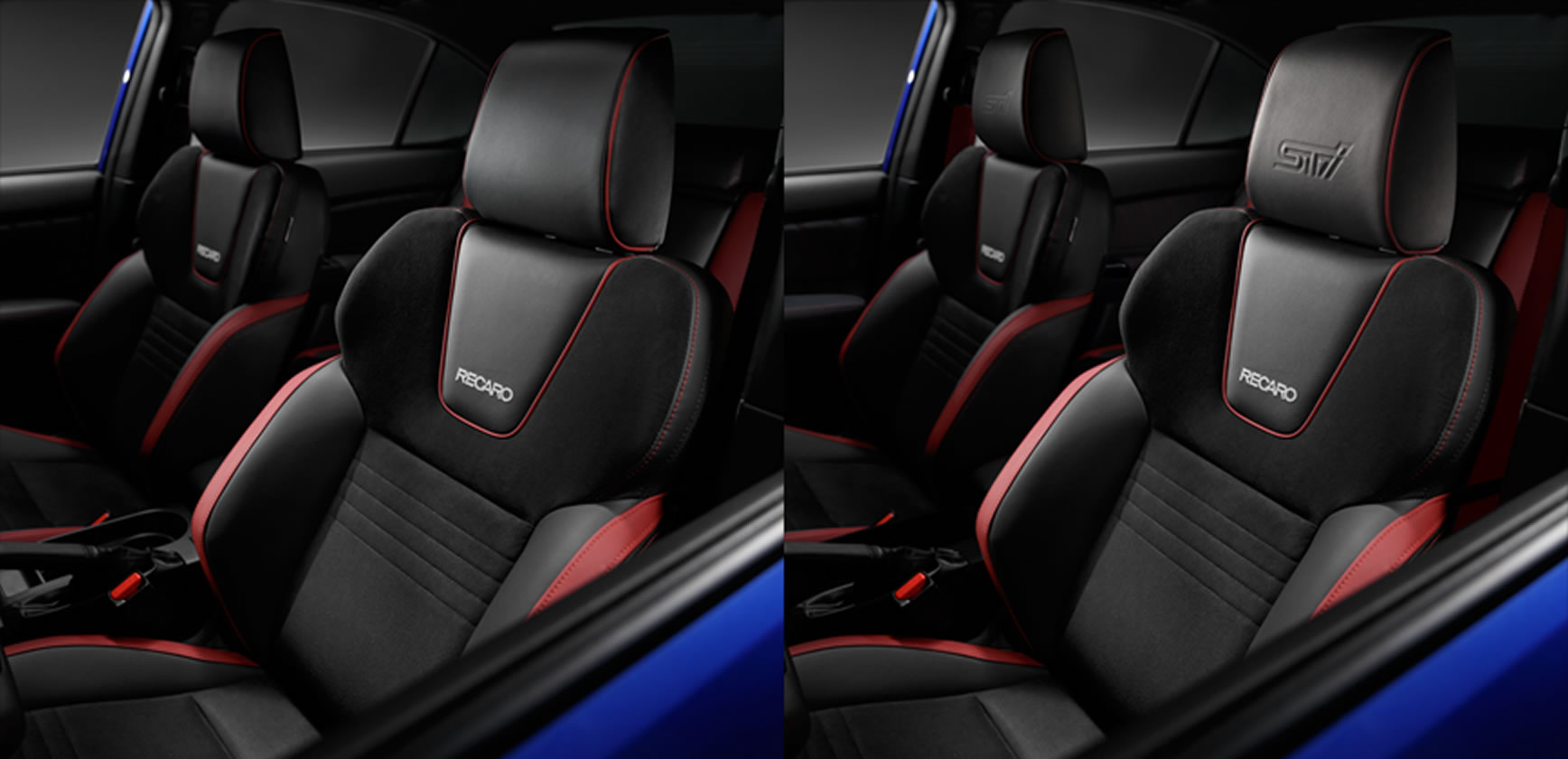 2020 Subaru WRX and WRX STI Performance-designed Front Seats
