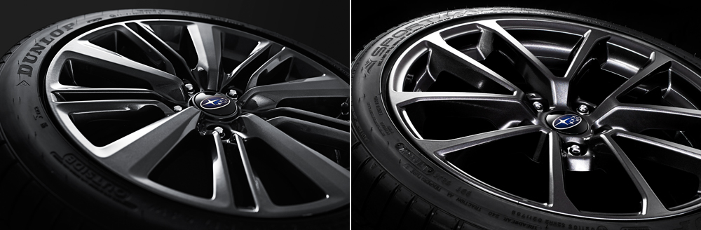 2020 Subaru WRX and WRX STI Lightweight Aluminum Alloy Wheels