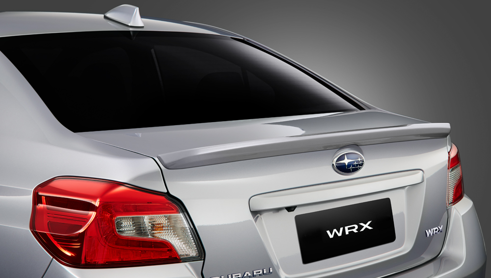 2020 Subaru WRX and WRX STI Aerodynamic Rear Spoilers