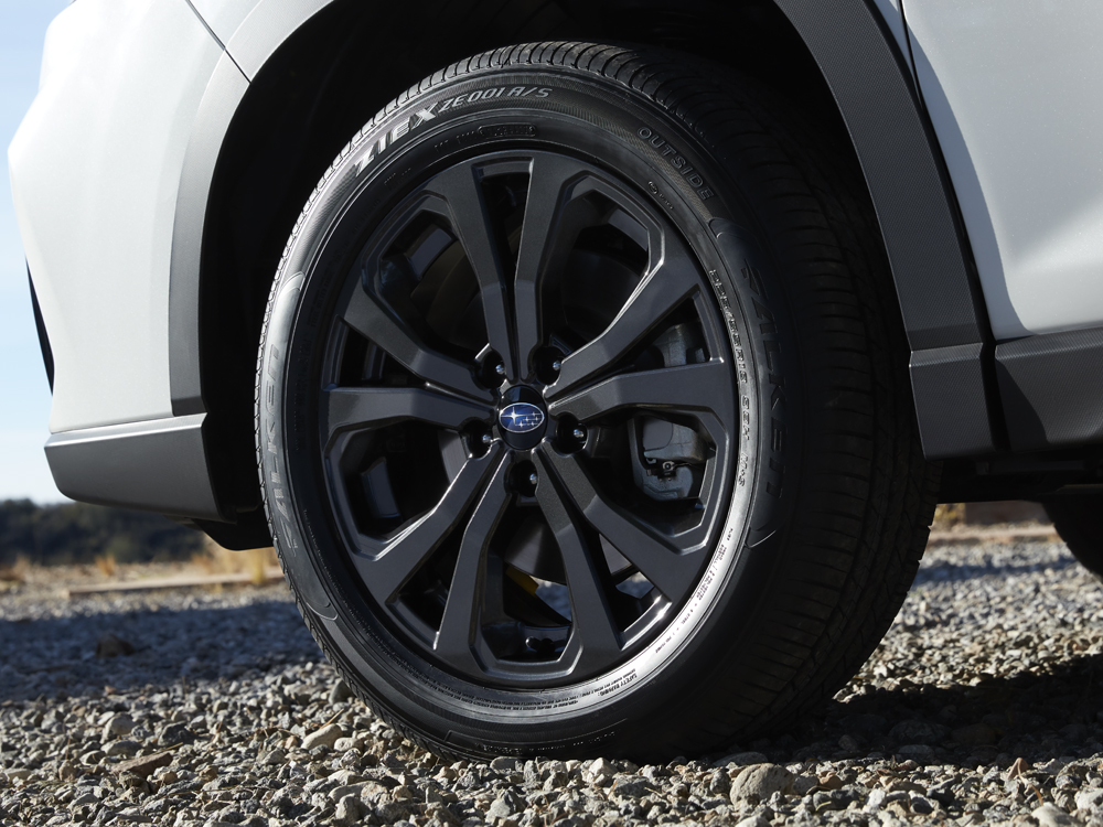 2020 Subaru Forester 18-inch 10-spoke Alloy Wheels with Dark Metallic Paint