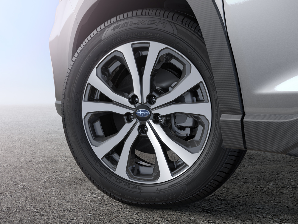 2020 Subaru Forester 18-inch 10-spoke Alloy Wheels with Machined Finish