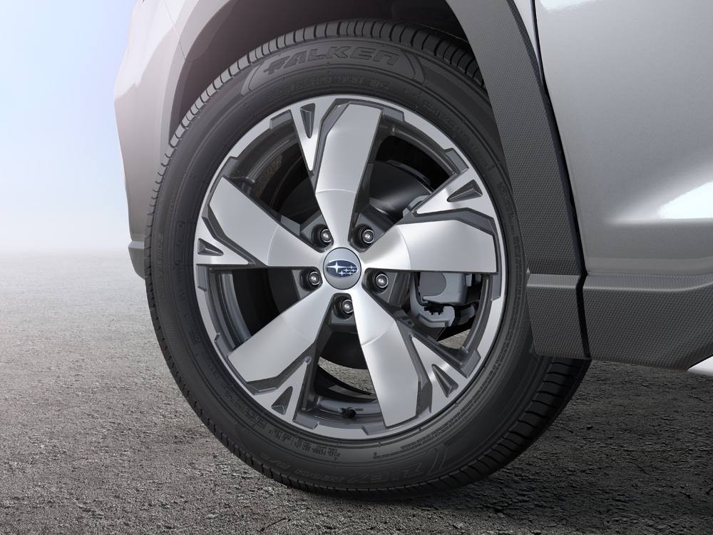 2020 Subaru Forester 18-inch Aluminum Alloy Wheels (High-relief Design)