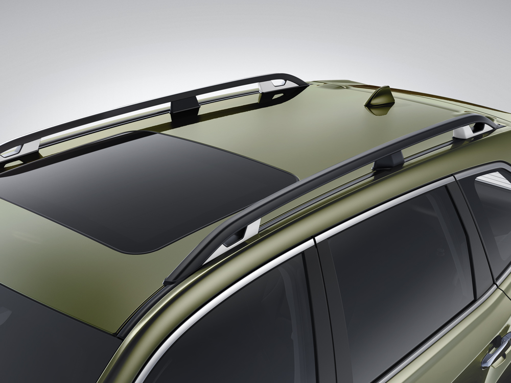 2020 Subaru Forester Raised-profile Roof Rails with Tie-downs