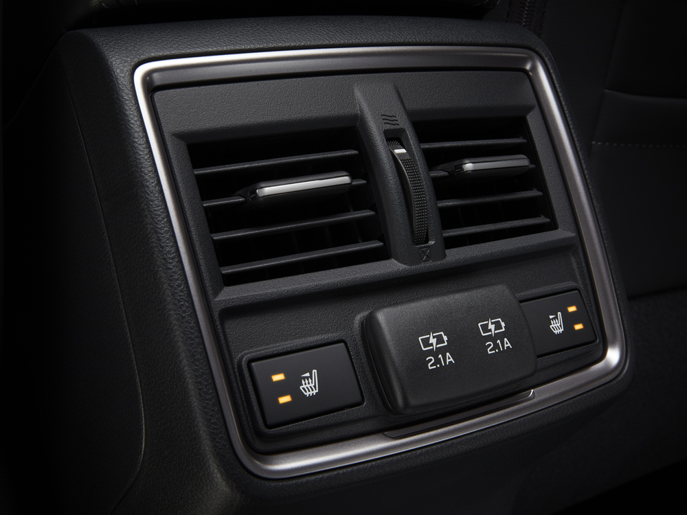 2019 Subaru Forester Rear Air Vents and USB Ports