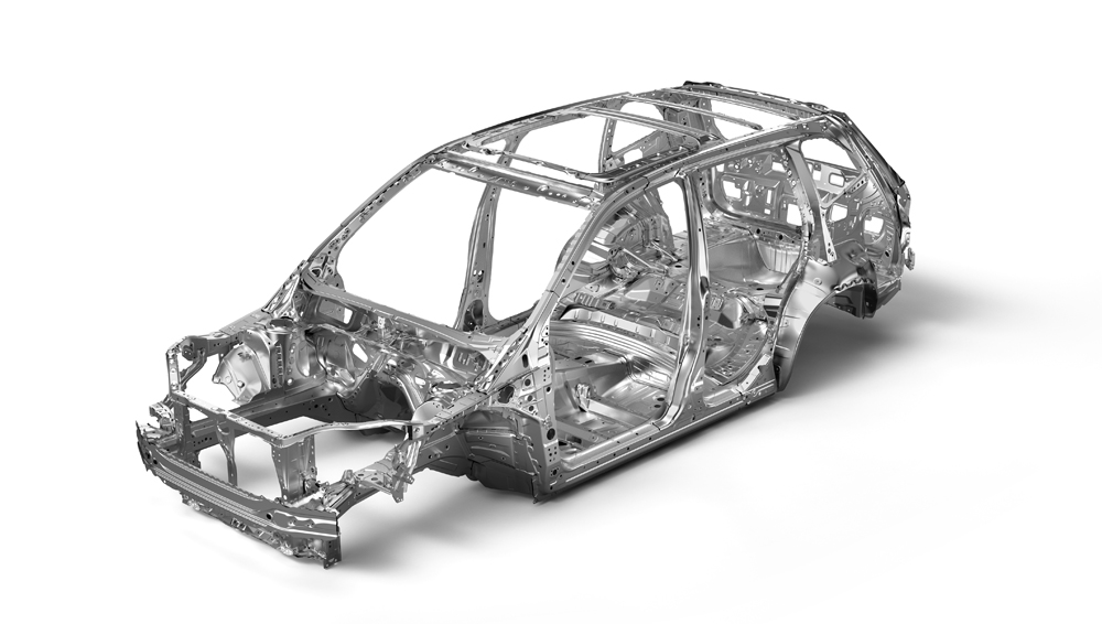 2020 Subaru Forester Advanced Ring-shaped Reinforcement Frame