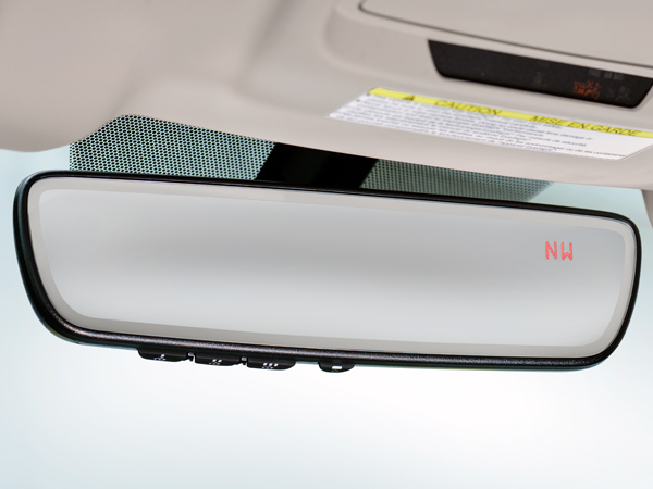 2019 Subaru Legacy Auto-dimming Rearview Mirror with Homelink<sup>®</sup> & Compass