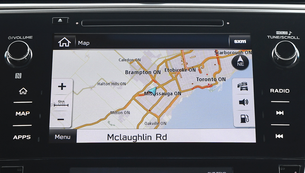 2019 Subaru Legacy 8-inch Infotainment System with Navigation