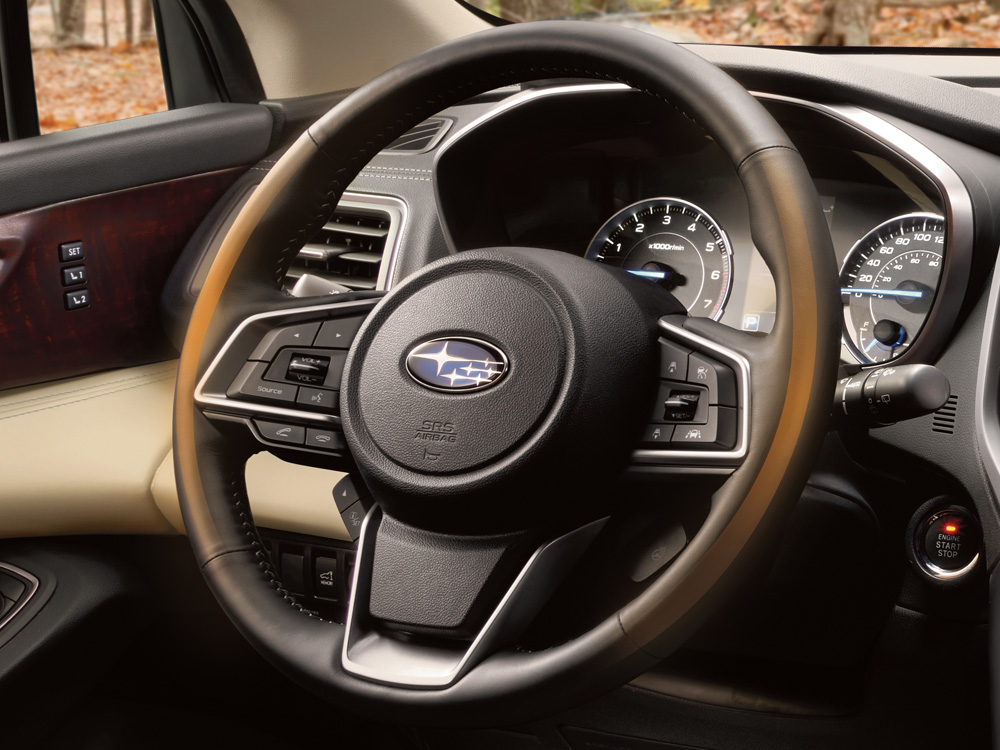 2019 Subaru Ascent Heated Steering Wheel