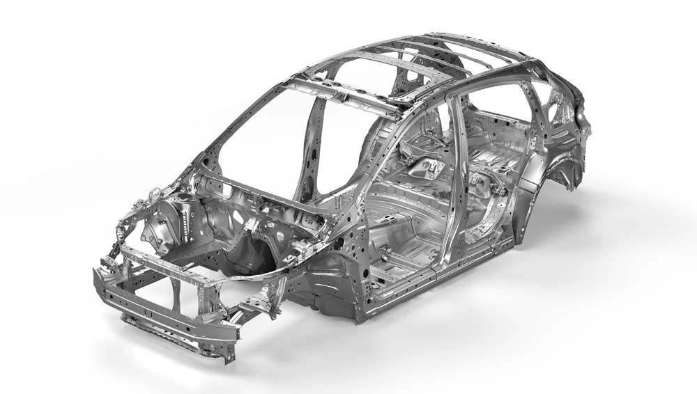 2019 Subaru XV Crosstrek Advanced Ring-shaped Reinforcement Frame
