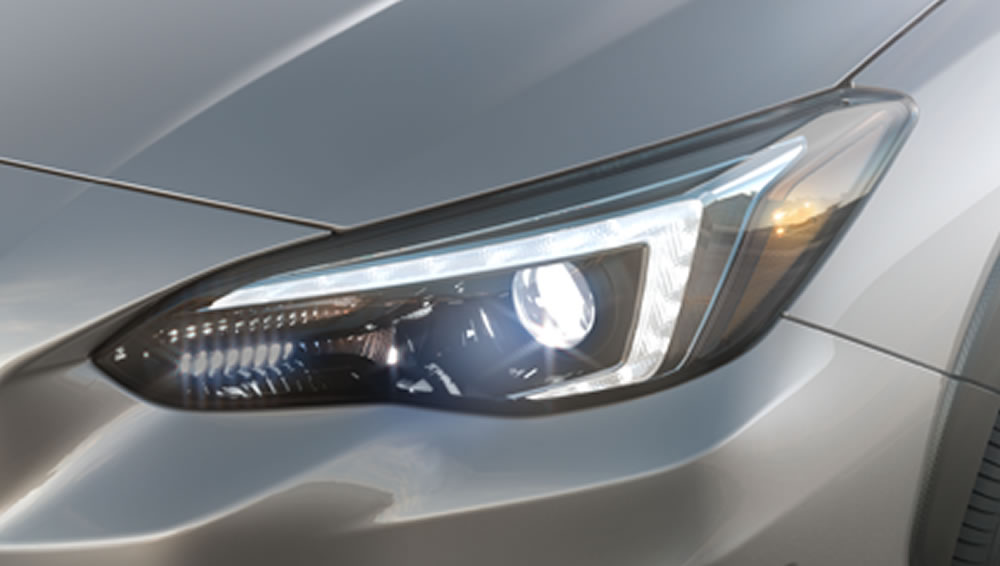 2019 Subaru Crosstrek Steering Responsive HeadLights