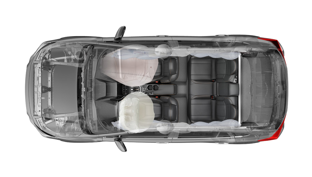 2019 Subaru Crosstrek Airbags