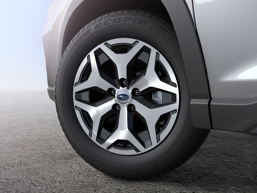 2020 Subaru Forester 17-inch Alloy Wheels with Machined Finish