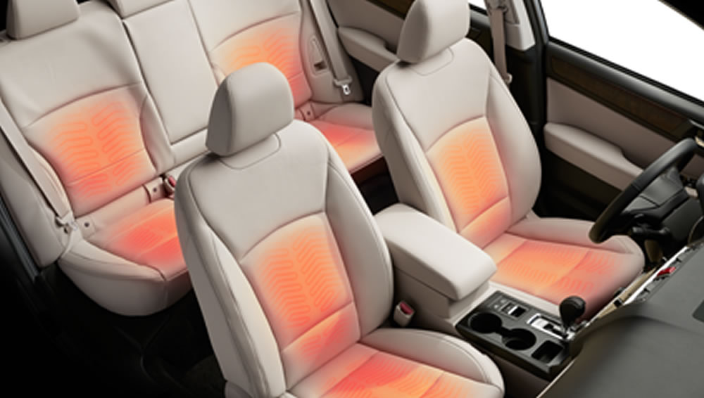 2019 Subaru Outback Heated Front and Rear Seats