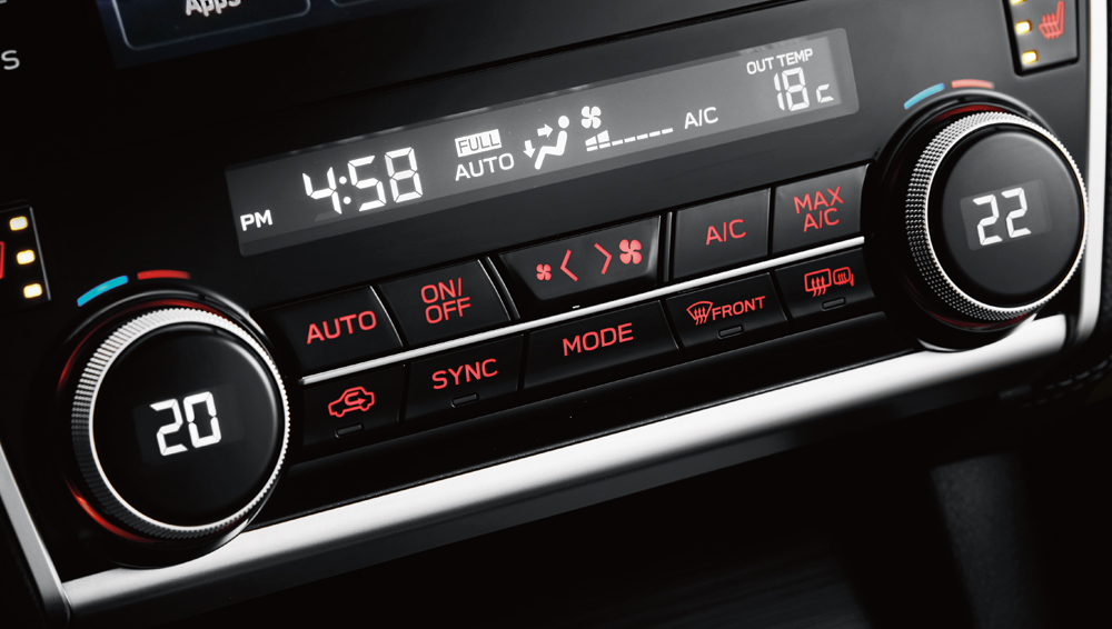 2019 Subaru Outback Advanced Climate Control