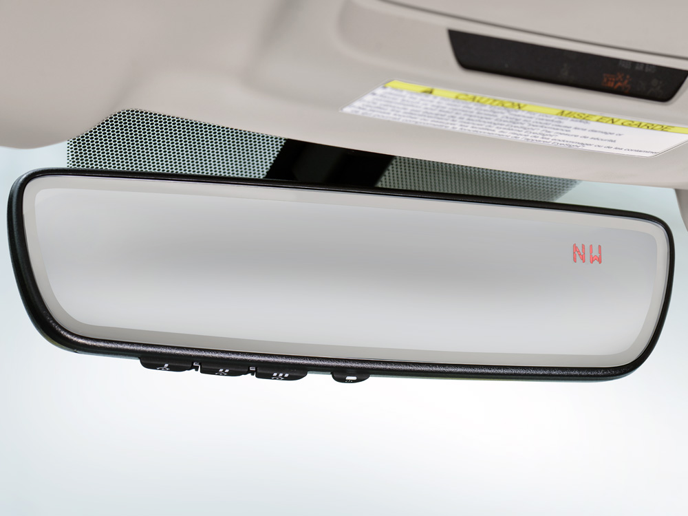 2019 Subaru Outback Auto-dimming Rear-view Mirror with Homelink<sup>®</sup>