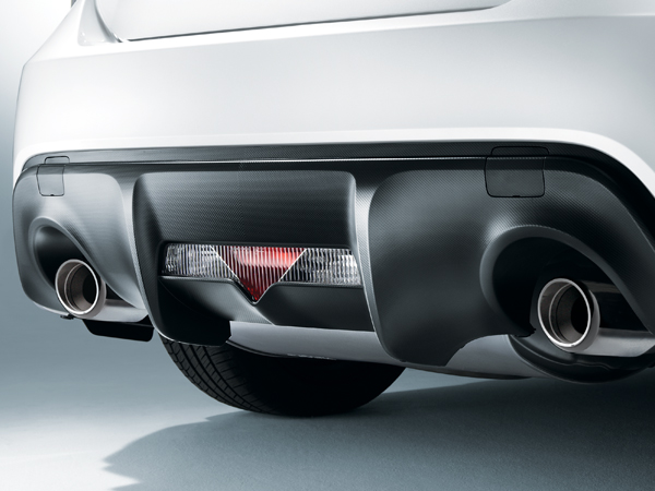 2017 Subaru BRZ Dual Exhaust with Stainless Steel Tips