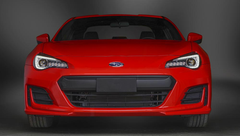 2017 Subaru BRZ Low-profile, Wide Body, Aerodynamic Design