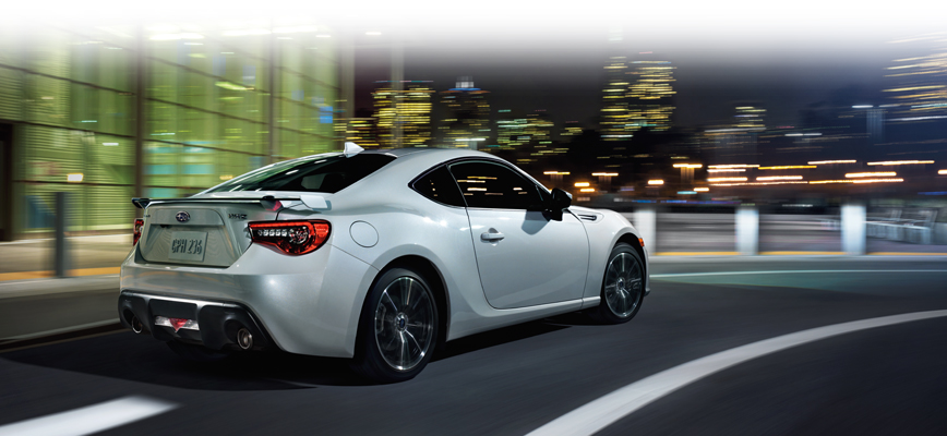 Subaru BRZ is designed to be as aerodynamic and lightweight as possible, and to produce the lowest possible centre of gravity.