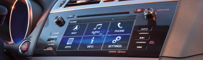 7.0-Inch Infotainment System with Navigation