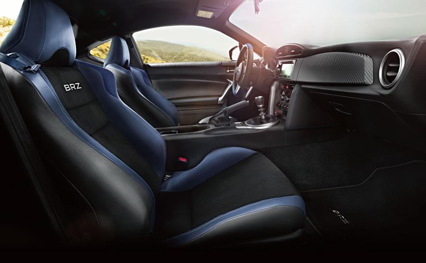 2015 Subaru BRZ Aozora Edition - Performance-inspired Interior